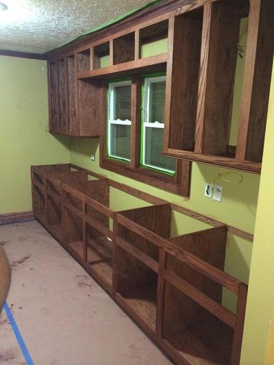 Kitchen Cabinet in Progess