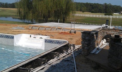 New Construction Pool