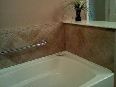 Bathroom Tub and Tile