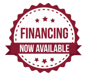 Financing Now Available logo