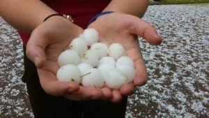 Golf Ball Hail