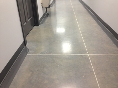 Tile Flooring in Hallway